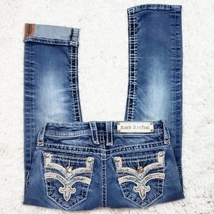 Rock Revival Iselin Capri Jean's.  Size 24.